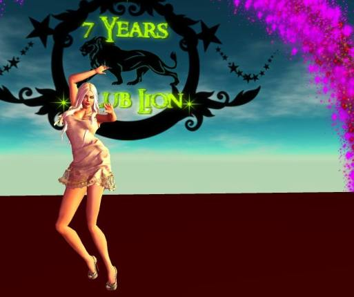 Huanita Wunderlich recently celebrated Club Lion's Seven Year anniversary...