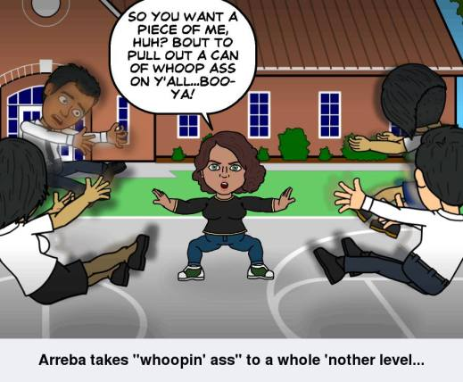 The Matrix ain't got nothing on ReRe Sandalwood's Creator, Arreba :)!