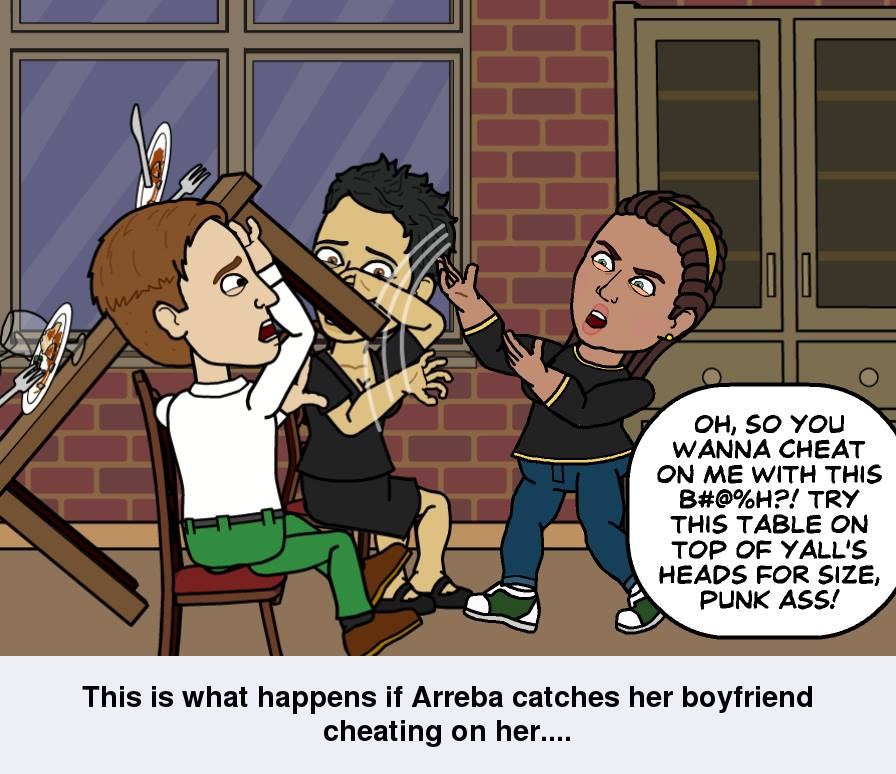 Sometimes, ReRe's creator loses her temper on folks...especially in situations like this!