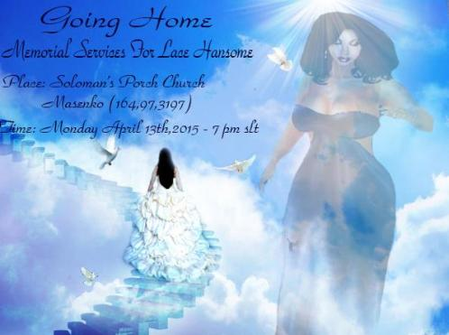 Lace Hansome is one of many Second Life Players who have been memorialized and honored.  Loved and revered by many, Hansome is still deeply missed...