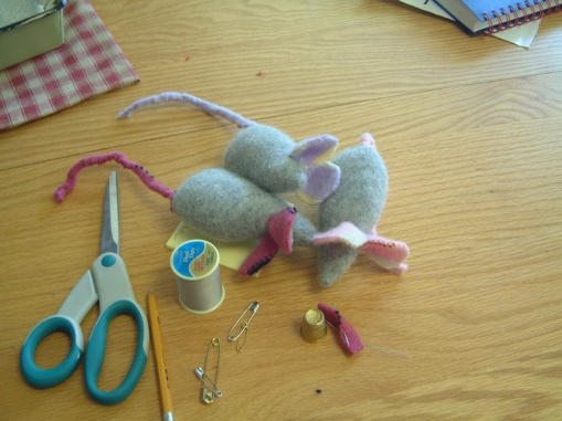 Contrary to the beliefs perpetuated by mainstream media, mice have never been known to sew up clothes, nor clean the house of humans...