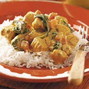 taste of home chicken curry