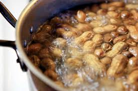 ...boiled peanuts in a pot, courtesy of www.motherearthnews.com