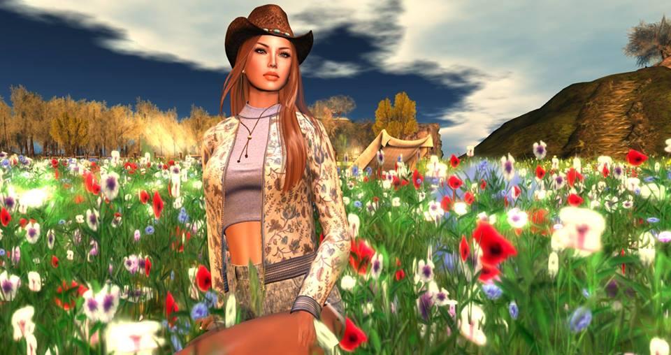 morgan in flower